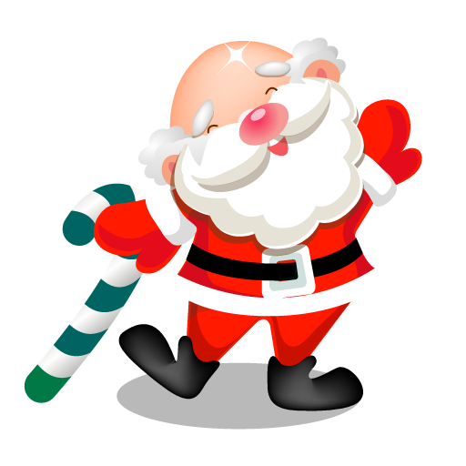 santa dancing icon