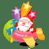 Santa-plane icon