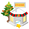 Christmas-event-store icon