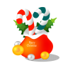 Christmas-gift-bag icon