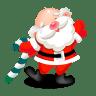 Santa-dancing icon