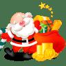 Santa-gifts-bag icon