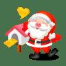 Santa-mail icon