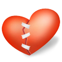 heart patched icon