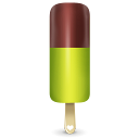 Ice cream green icon
