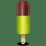 Ice-cream-green icon