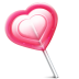 Love-heart-lolly icon