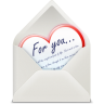Love-letter icon