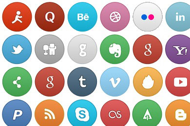 So Smooth Social Icons