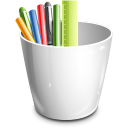 pencil can icon