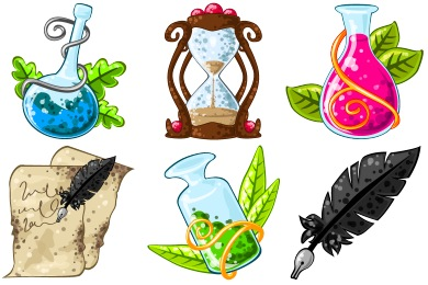 Fantasy Mediaeval Icons