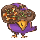Steampunk Bird icon