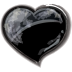 Heart-black icon