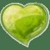 Heart-green icon