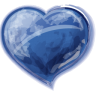 Heart-blue icon