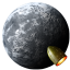 Rocket Moon icon