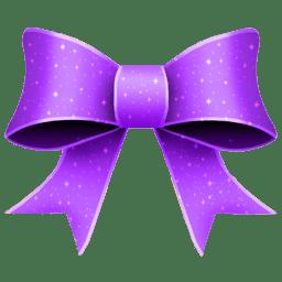 Ribbon Purple Pattern icon