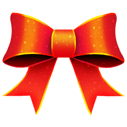 Ribbon Red Pattern icon