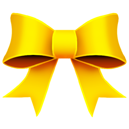 Ribbon Yellow icon
