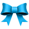 Ribbon-Blue-Pattern icon