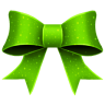 Ribbon-Green-Pattern icon