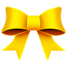 Ribbon-Yellow icon
