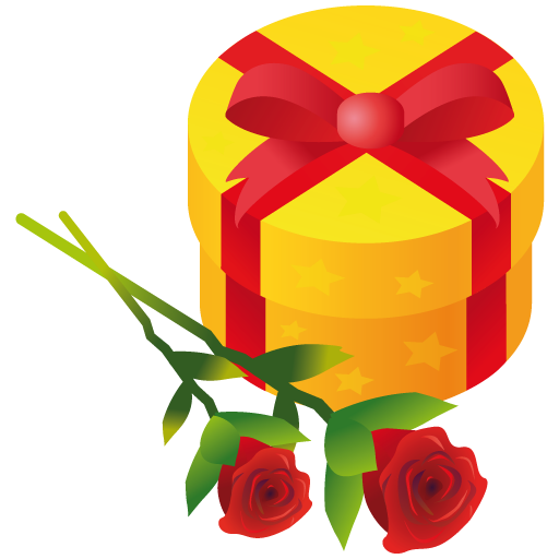 Gift-rose icon