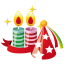 party hat candles icon