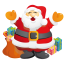 santa gifts icon