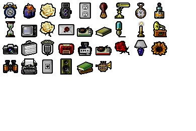 Daily Items Icons