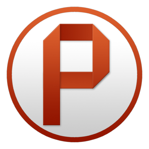 PowerPoint Circle Icon | Microsoft Office Yosemite Iconset