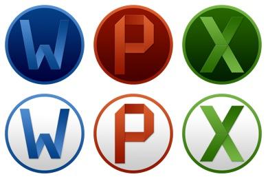 Microsoft Office Yosemite Icons