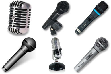 Microphones Icons