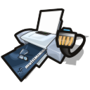 Printer-network icon