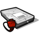 network disk offline icon