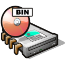 Virtual dvd drive icon