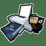 Printer-network icon