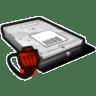Network-disk-offline icon