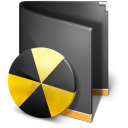 Burn-Folder-Black icon