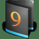 Folder Classic Alt Black icon