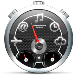Dashboard Black icon