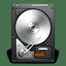 HD OpenDrive Black icon