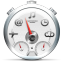 Dashboard White icon