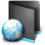 Net-Folder-Black icon