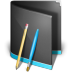 Applications-Folder-Black icon