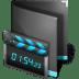 Movie-Folder-Black icon