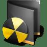 Burn-Folder-Black icon