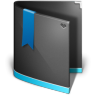 Favorites-Folder-Black icon