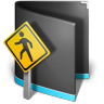 Public-Folder-Black icon