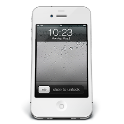 iPhone White iOS icon